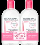 Acheter CREALINE TS H2O Solution micellaire sans parfum nettoyante apaisante 2Fl/500ml à La Lande-de-Fronsac
